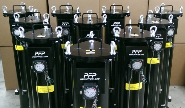 Hydraulic Cartridge Housings with Electronic Differential Gauges
