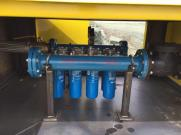 Inlet Manifold Filtration System for 10,000 Gallon Diesel Tank